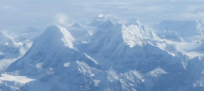 Everest Mountain Flight, Takeoff From Kathmandu, Nepal
