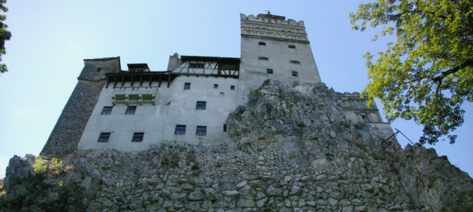 Dracula's Castle, Day Trip To Bran, Transylvania, September 2014