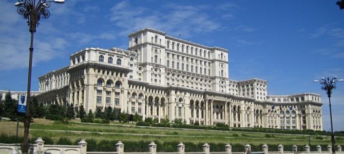 The Nicolae Ceauşescu Palace, Bucharest, Romania, August 31, 2014