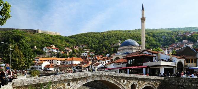 Prizren, Kosovo, August 22, 2014: Kosovans Are The Nicest People In The World