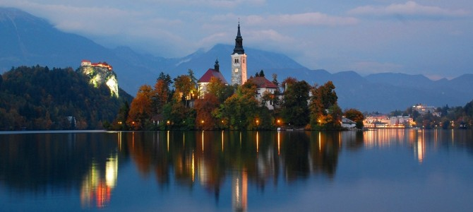 Visiting An Alpine Postcard: Lake Bled, Slovenia, September 22, 2014