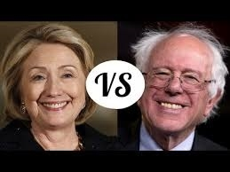 Clinton vs Sanders