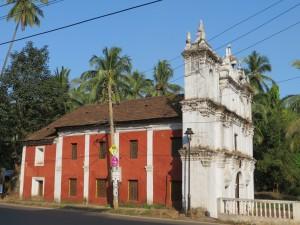 Church near Anjuna, Goa