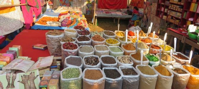 Arambol, Anjuna Markets and Sweetwater Beach, Goa, India – Day 795-804 (Dec 4-13, 2015)