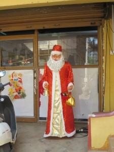 Santa in Panjim, Goa