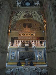 Remains of St Francis Xavier, Bom Jesus, Panjim, Goa