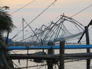Cochin Kochi Chinese fishing nets