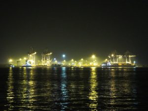 Kochi harbour night