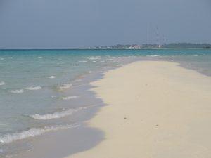 Gaafaru sandbank
