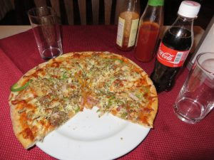 Pizza in Male, Madives