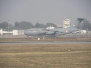 Military aircraft, Delhi