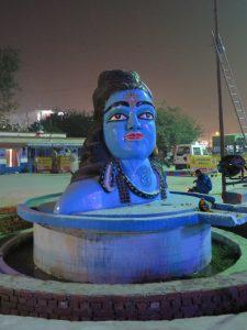 Shiva statue, Haridwar