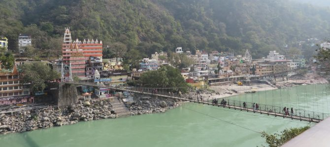 Rishikesh, India: Day 837-838 (Jan 14-15, 2016): Discovering Ganga Ma