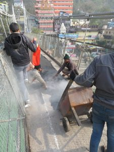 Laxman Jhula resurfacing