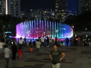 Fountain Twin Towers KL