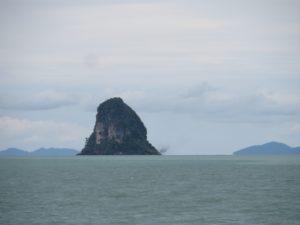 Island off Don Sak