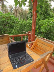 Home office, Koh Phangan